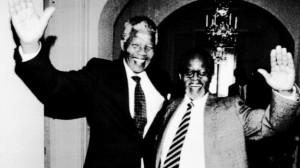 Nelson Mandela e Oliver Tambo